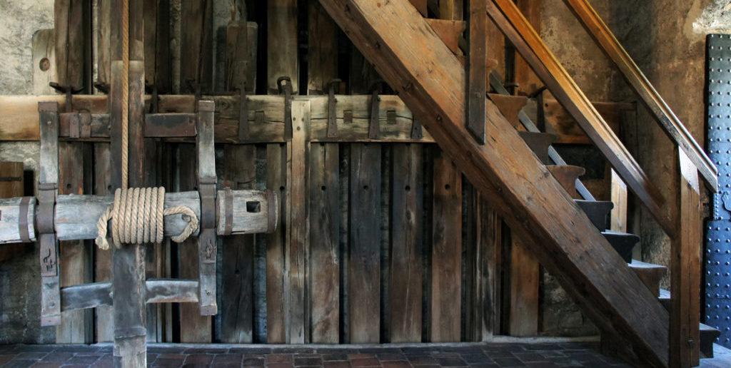 Spalentor, Fallbalken © Architektur Basel