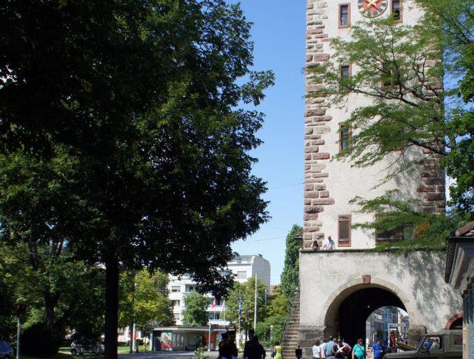 St.Johanns-Tor, Stadtseite © Architektur Basel