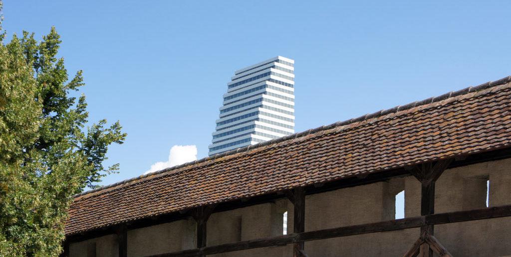 Stadtmauer im St.Alban-Tal © Architektur Basel