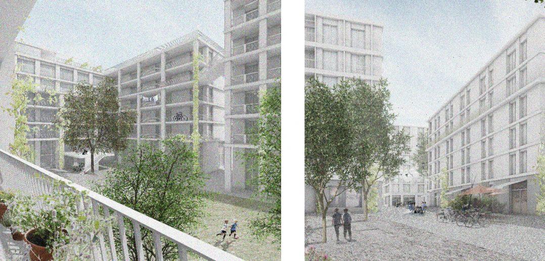 Felix Platter-Areal – Stump & Schibli und Müller & Nägelin, Basel