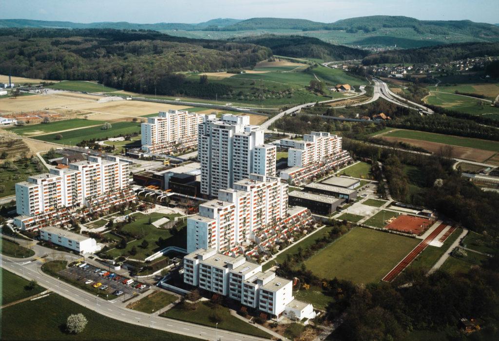 Überbauung Liebrüti in Kaiseraugst © Swissair Photo AG