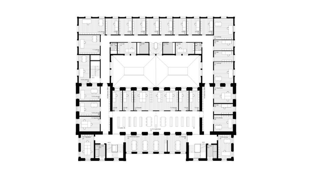 1. OG / «THEMIS» (1) © Herzog Architekten, Zürich