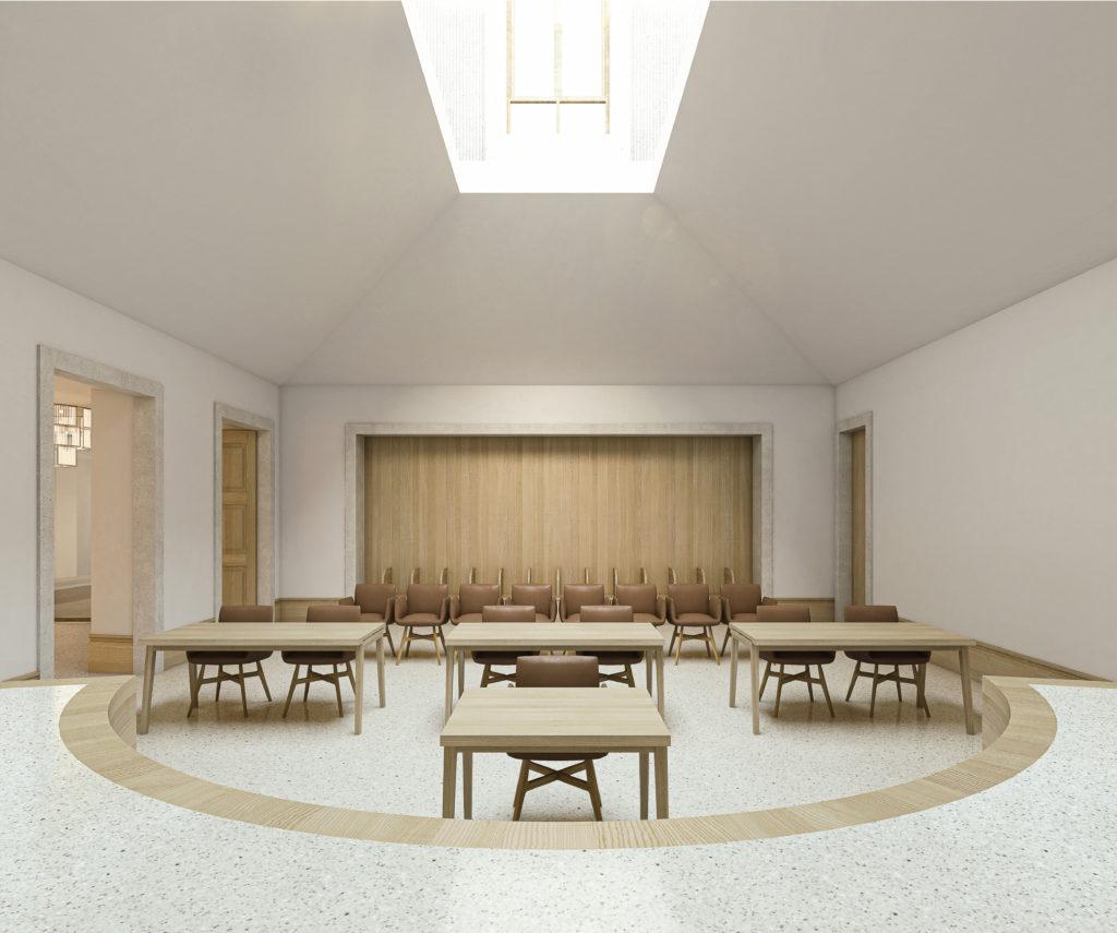 Der Gerichtssaal / «THEMIS» (1) © Herzog Architekten, Zürich