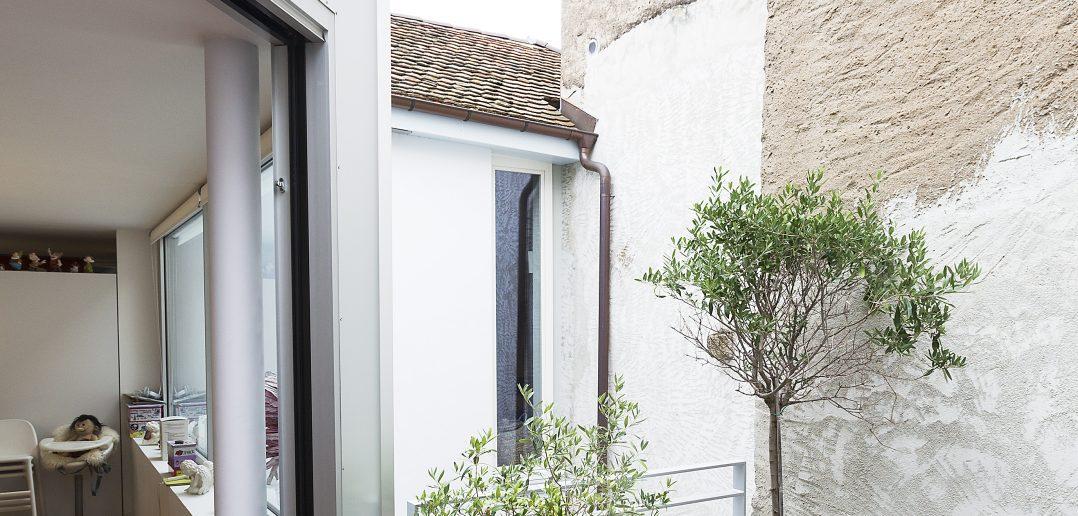 Terasse Rue des Baiches, Porrentruy (© Julian Salinas)