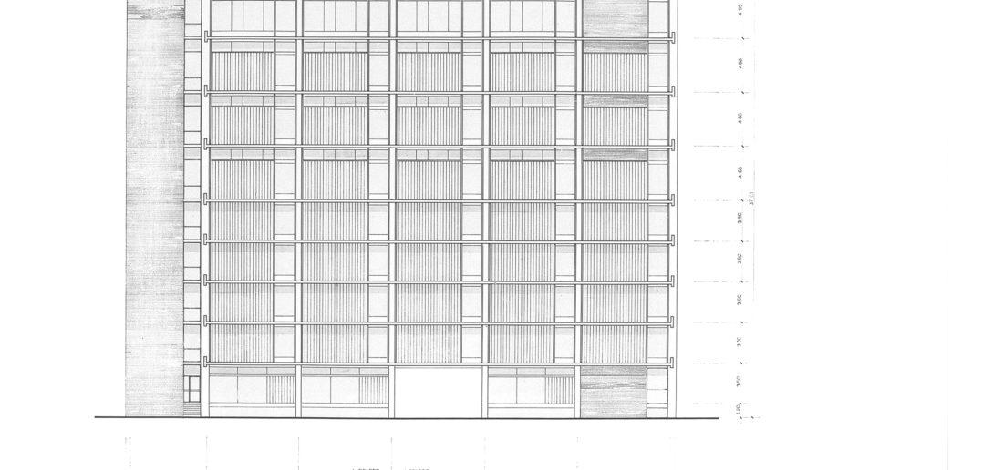 Fabrikations- und Lagergebäude Thomi + Franck Basel, Ostfassade © Burckhardt+Partner