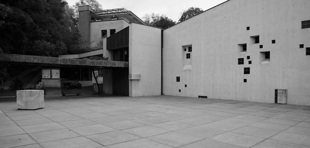 Kirche Bruder Klaus, Birsfelden, 1959, Hermann Baur © Architektur Basel