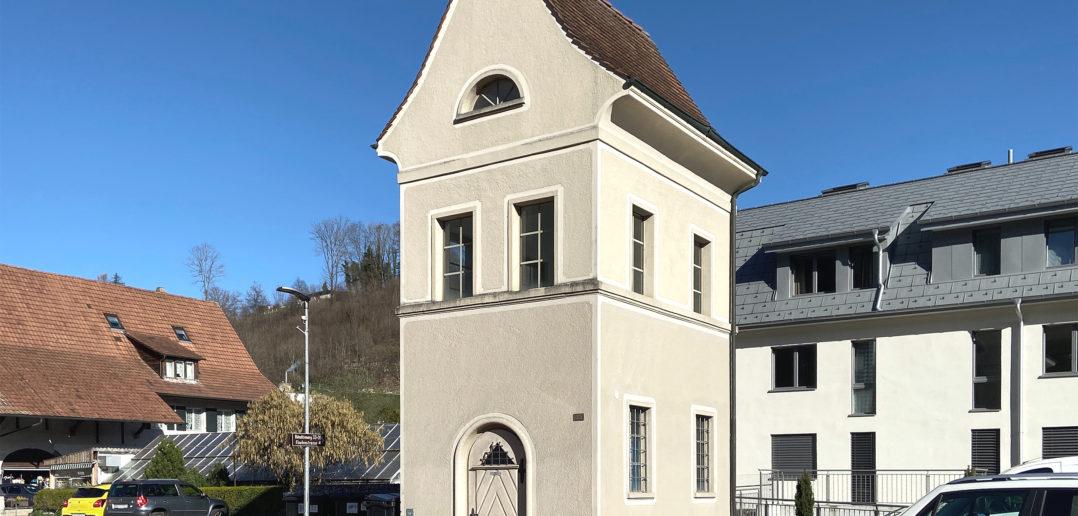 Trafohäuschen Hölstein © Simon Heiniger / Architektur Basel