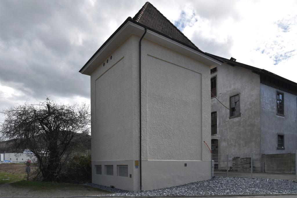 Trafohäuschen Lausen © Simon Heiniger / Architektur Basel