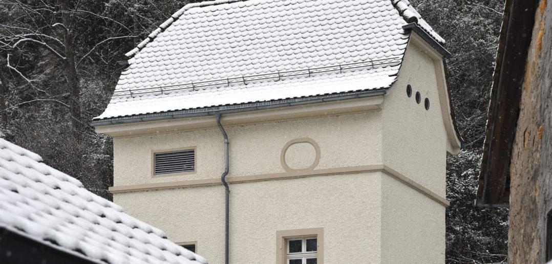 Trafohäuschen Waldenburg © Simon Heiniger / Architektur Basel