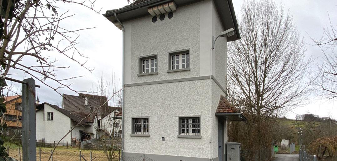 Trafohäuschen Ziefen © Simon Heiniger / Architektur Basel