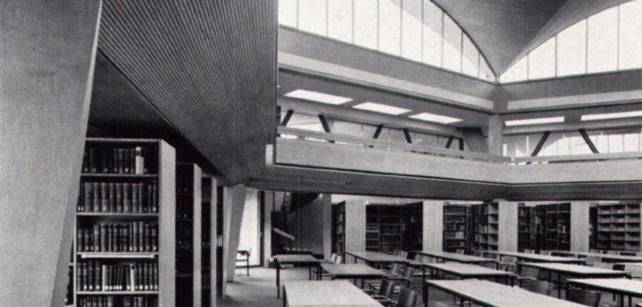 Universitätsbibliothek Basel (1962 - 68) von Otto Senn © P. und E. Merkle, Basel