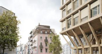 Visualisierung Ansicht Europaeischer Hof © Miller & Maranta Architekten