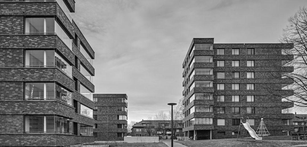 Sanierte Wohngenossenschaft Meiriacker, Binningen, Flubacher Nyfeler Architekten AG © Roger Frei Architekturfotografie, Zürich