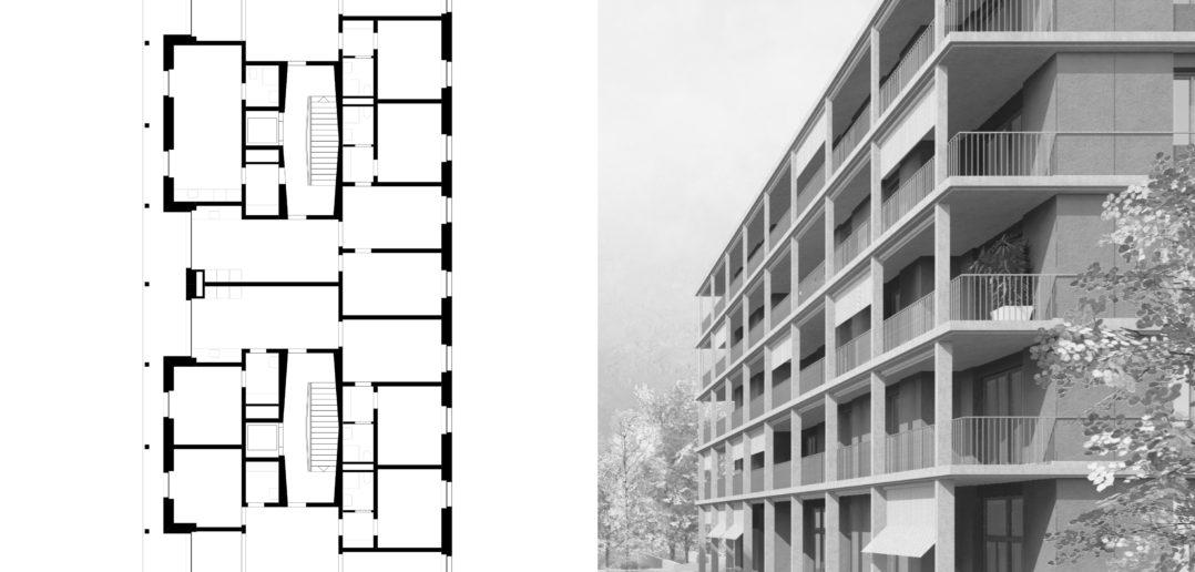 Wettbewerb | Brisgiareal | Baden | 2016 © Scheibler & Villard