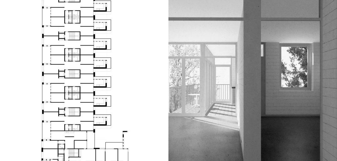 Wettbewerb | Hardau 1 | Zürich | 2017 © Scheibler & Villard
