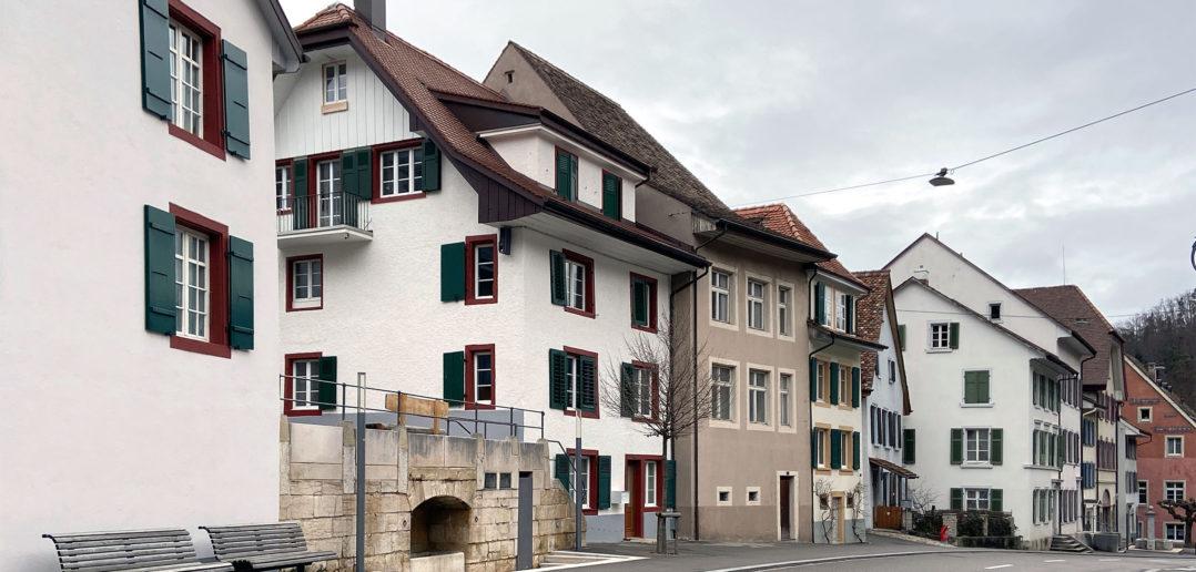 Ortsdurchfahrt Waldenburg © Simon Heiniger / Architektur Basel