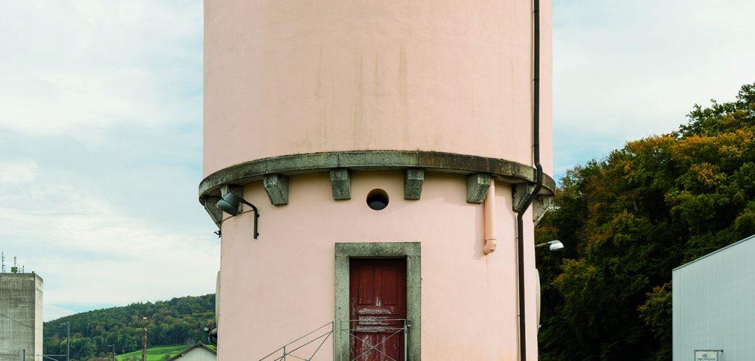 Bahnarchitektur: Wasserturm in Sissach (Baujahr 1899) © Andreas Zimmermann