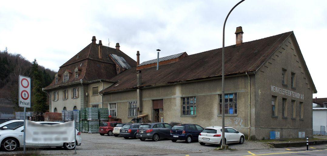 Ehemalige Weinkellerei Tschudy, Lagerhaus, Sissach © Architektur Basel