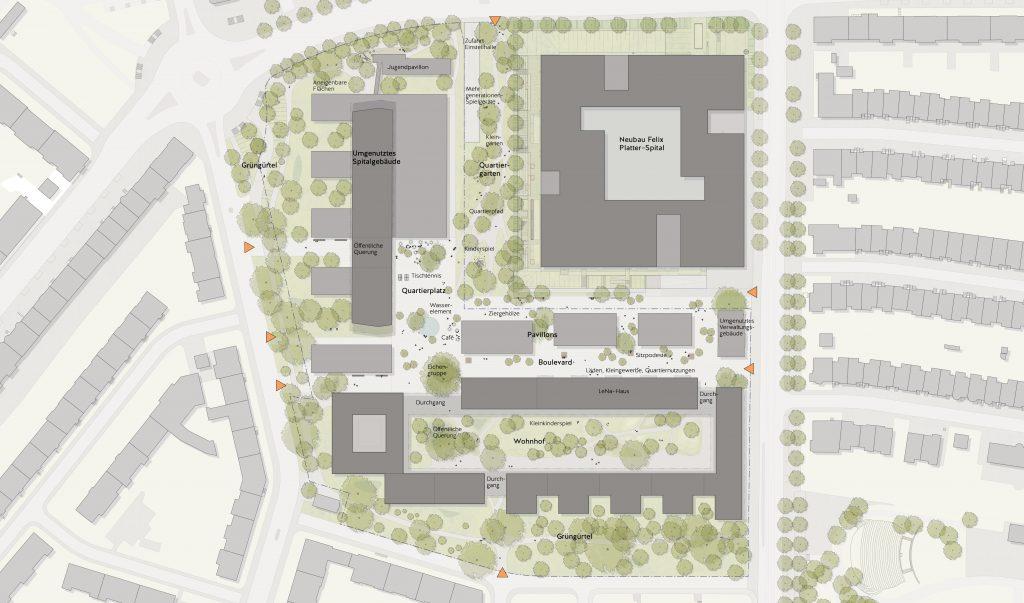 Konzeptplan © Enzmann Fischer Partner
