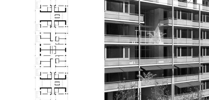 Westfeld Wohnhaus-Lena | Entwurfsskizze | Basel | 2018 © Baumann Scheibler Villard