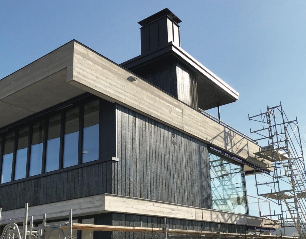 Neubau Wohnhaus in Riehen © Barcelo Baumann