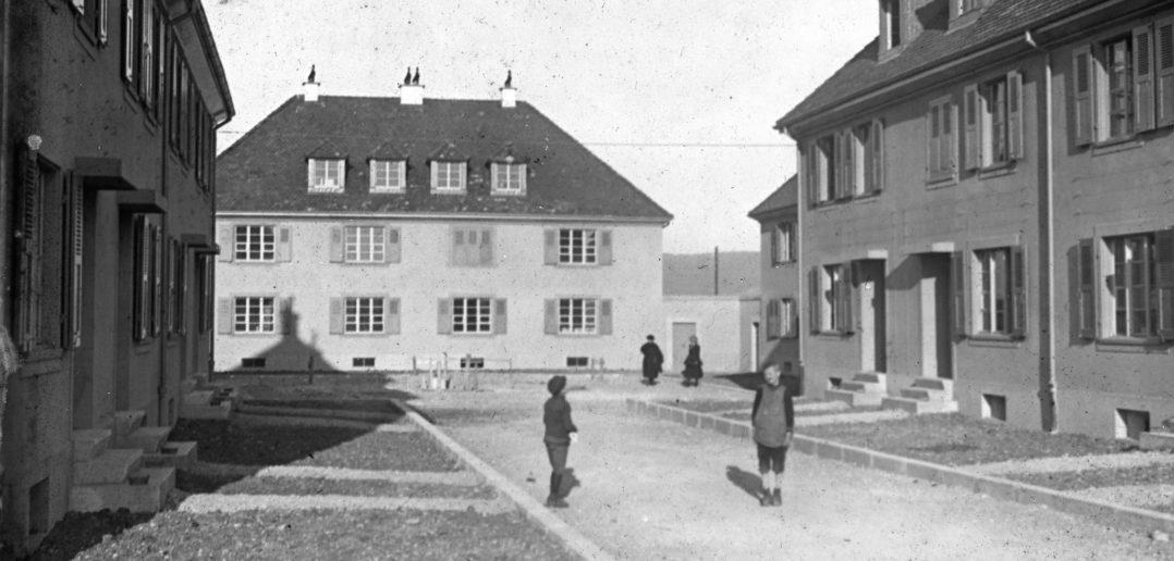 Wohnplatz im Freidorf anno 1921 © Siedlungsgenossenschaft Freidorf