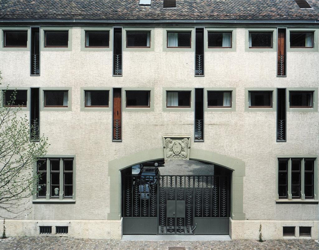 Fassade Hotel Au Violon