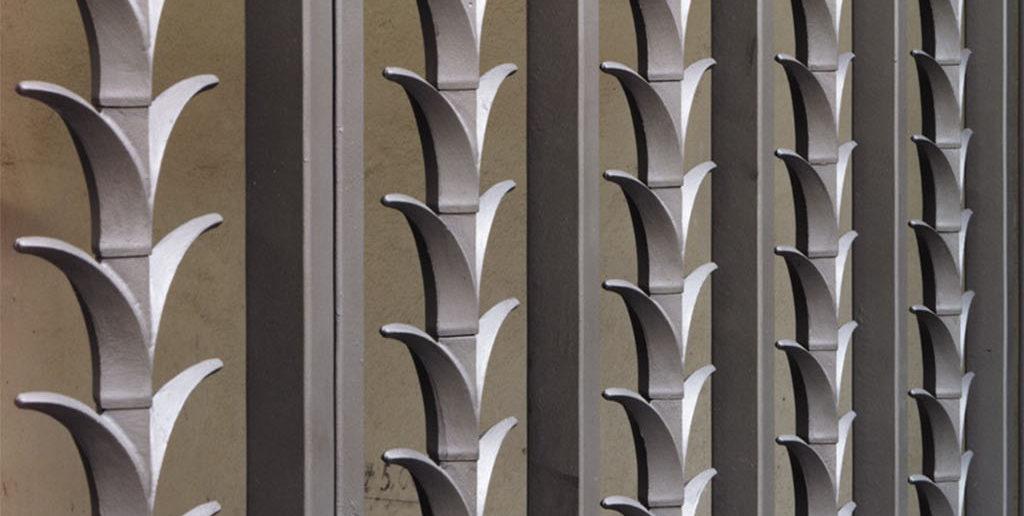 florales Motiv Hotel Au Violon