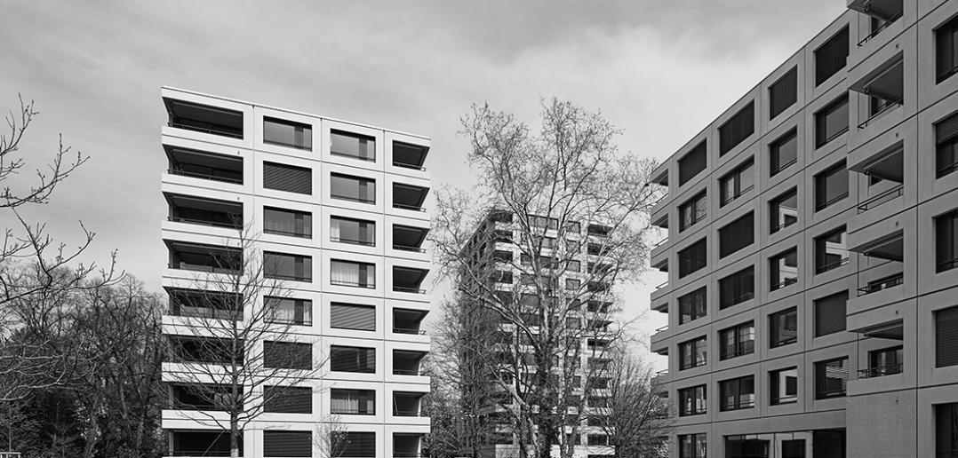 «Wohnüberbauung Magnolienpark» Yves Stump und Hans Schibli Stump & Schibli Architekten, Basel | Dienstag, 13. November 2018, 19h © Tom Bisig
