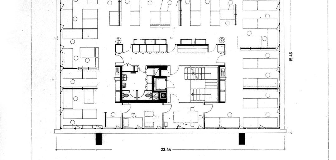 Atelier- und Bürohaus an der Peter Merian-Strasse © Burckhardt+Partner