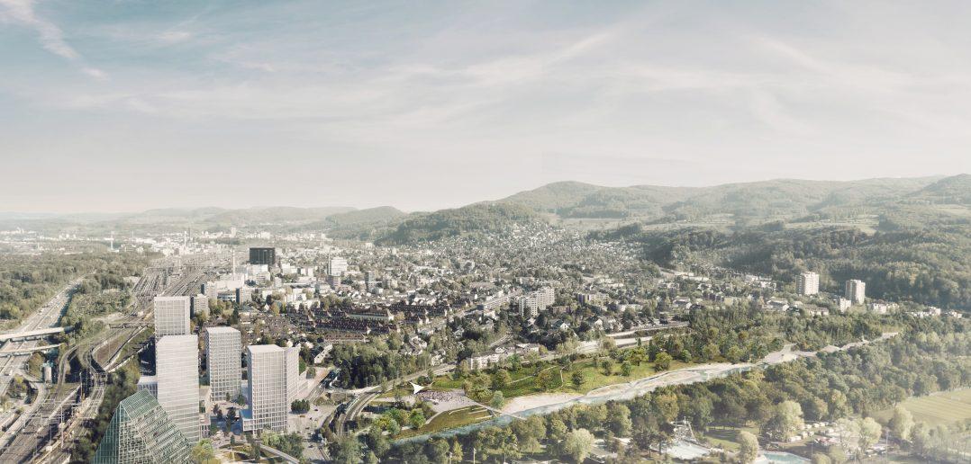 Hochhaus-Quartier Hagnau und Schänzli © nightnurse images, Zürich