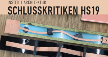 Schlusskritiken HS19, Institut Architektur FHNW