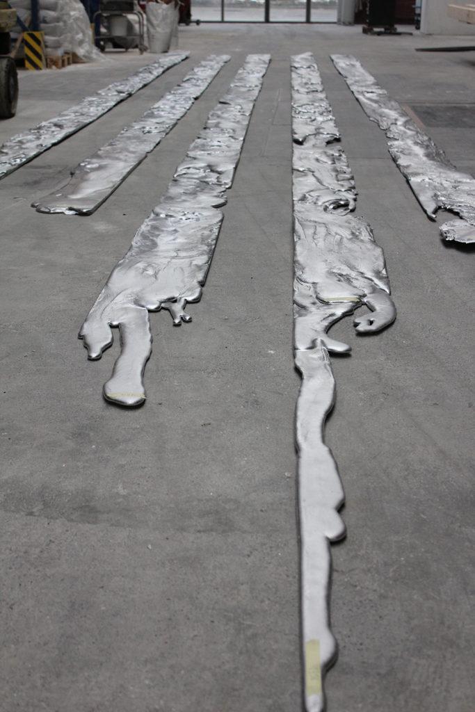 Die fertigen Magmaflüsse © Saskia Edens