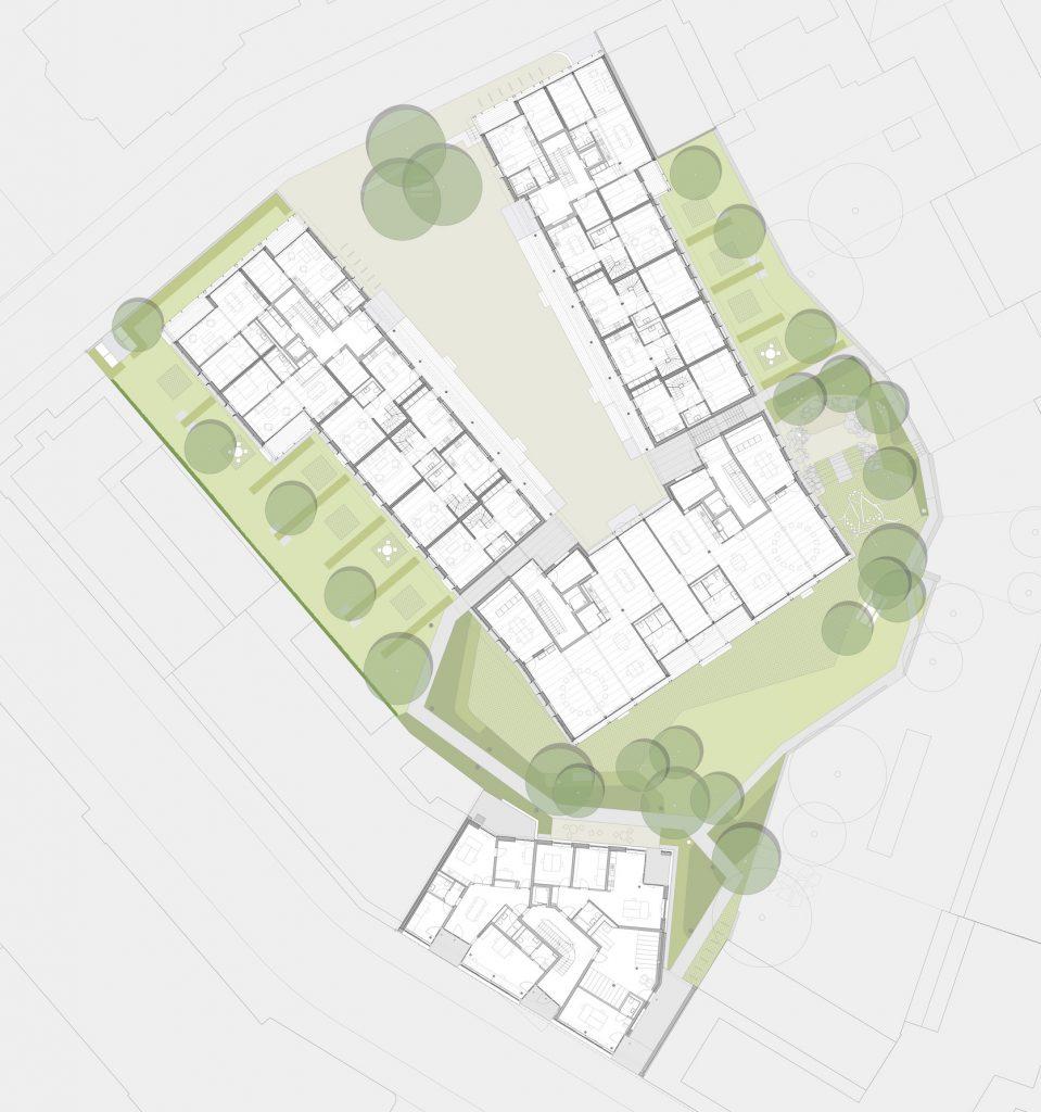 Grundriss © Esch Sintzel Architekten