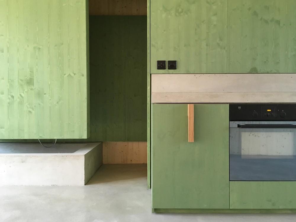 """Umbau Atelierwohnhaus """"altes Weinlager"""" in Nuglar © lilitt bollinger studio"""