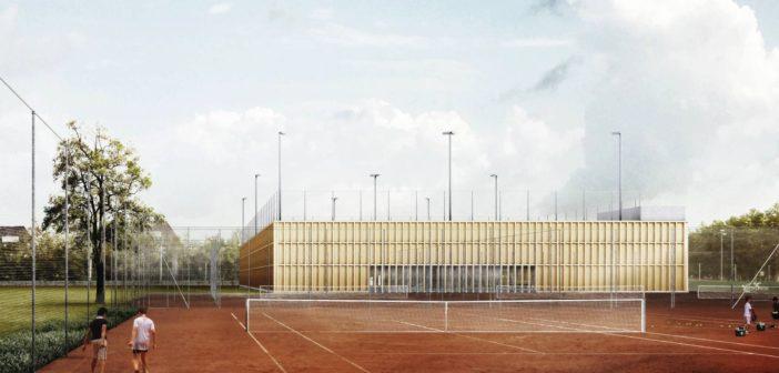 Neue Tennishalle des TC Old Boys©Stich & Oswald