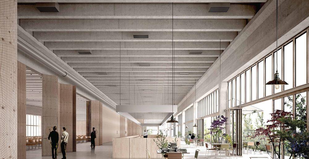 Blick in das Foyer © Immobilien Basel