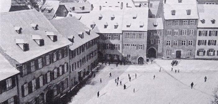 Winterlicher Münsterplatz