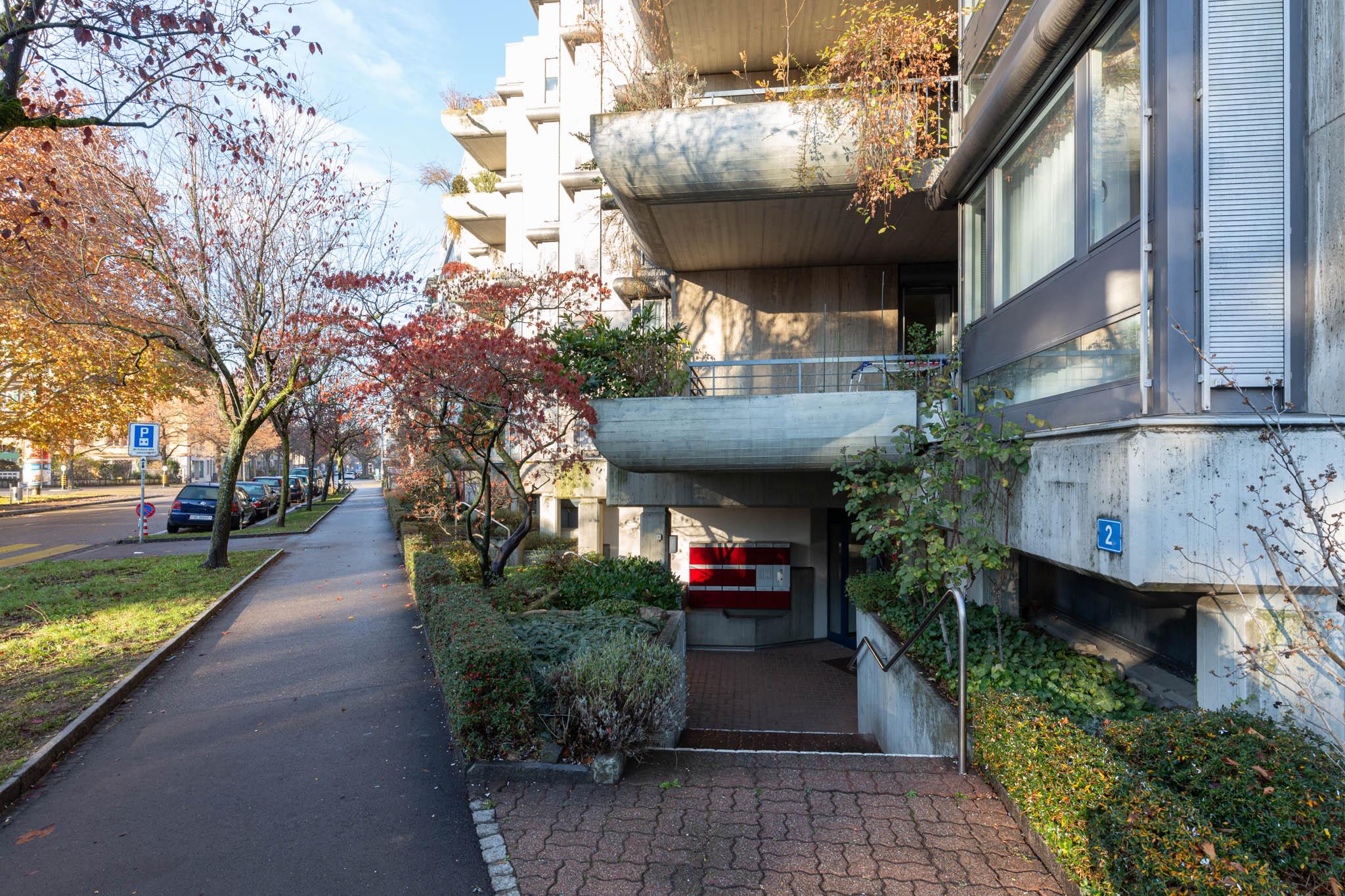 Wohnhaus Wielandplatz © Burckhardt+Partner